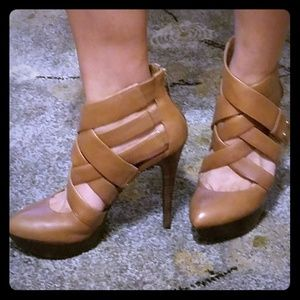 Guess by Marciano strappy bootie heels